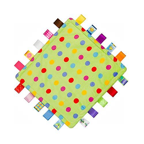 G-Tree Étiquette Couverture de sécurité - Baby Sensory, Sécurité et Teething fermé Ruban Tag Couverture, Couette bébé doudou, Couverture Snuggle