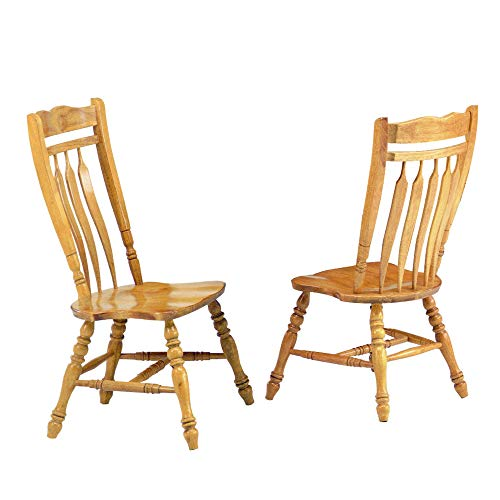 Sunset Trading Oak Selections Dining Chair, Light Finish