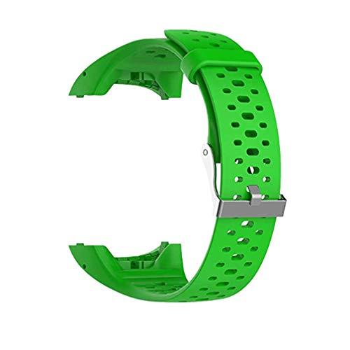 Meiruo Cinturino per Polar M400 (Verde)