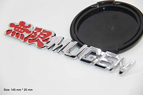 B236 Mugen Power Emblem Badge auto aufkleber metall Seite car Sticker Truck