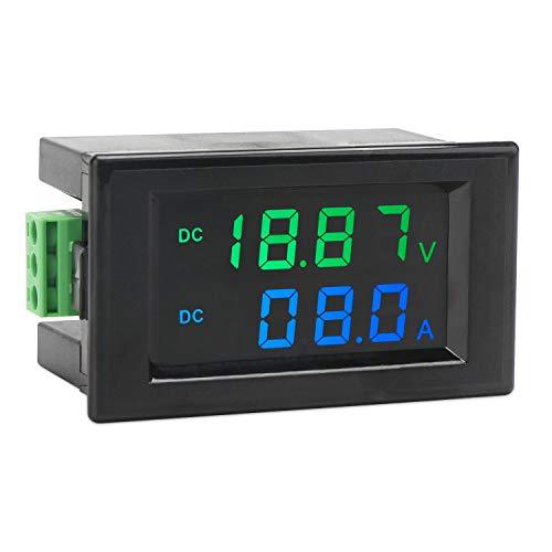 Volt Amperemeter, Droking DC 0-200V 10A Digitalmultimeter LCD Dual Display Panel Voltmeter Amperemeter Spannung Strom Monitor Anzeige Meter