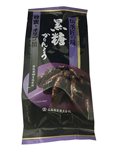 山脇製菓 伝承匠の味黒糖かりんとう 120g×6袋