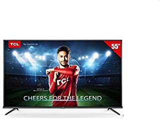 تي سي ال تلفزيون ذكي بشاشة 55 انش بتقنية اندرويد الترا اتش دي مع خاصية 4 كيه ليد - 55P8