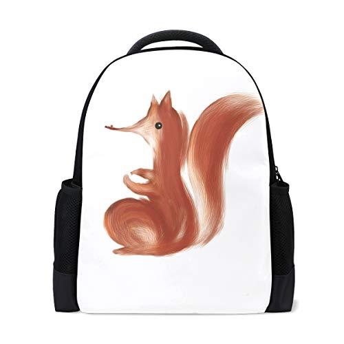 FANTAZIO Mochila diseño de zorro rojo