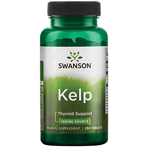 Swanson Kelp Iodine Source 225 mcg 250 Tabs