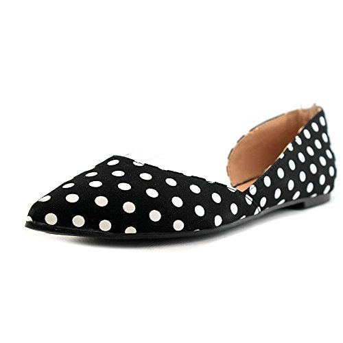 Top 10 best selling list for black and white polka dot shoes flats
