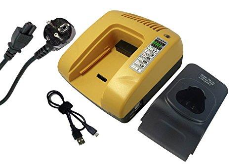 PowerSmart® 10.8V Cargador para Bosch 2 607 336 013, 2 607 336 014, 2 607 336 333, 2 607 336 863, 2 607 336 864, BAT411, BAT411A, BAT412A, BAT413A, 2 607 225 516, 607 225 135, AL 1115 CV, AL 1130 CV, BC 430 (amarillo)