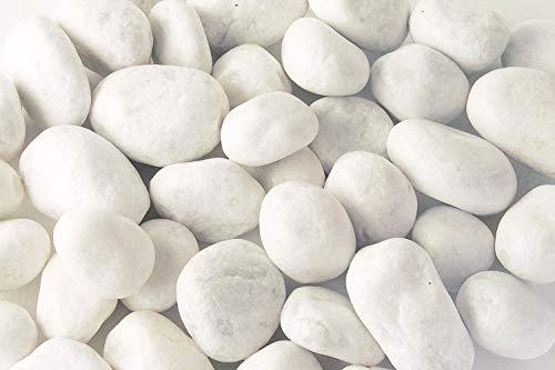 Todoestores Piedras de mármol Blanco Natural (500)