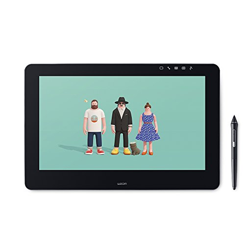 Wacom Cintiq Pro 16 - Tableta gráfica (Inalámbrico, 5080 lpi, 345 x 194 mm, USB, 39.6 cm (15.6'), 16:9)