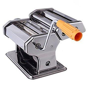 Divinz Stainless Steel Pasta Maker & Roller Machine, Noodle Spaghetti & Fettuccine Maker