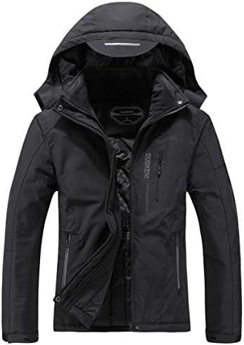SUOKENI Women s Waterproof Warm Winter Snow Coat Hooded Raincoat Ski Snowboarding Jacket product image