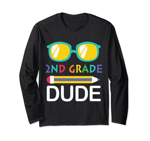 2年生の男おかしい1年生のサングラスクラスに戻る 長袖Tシャツ