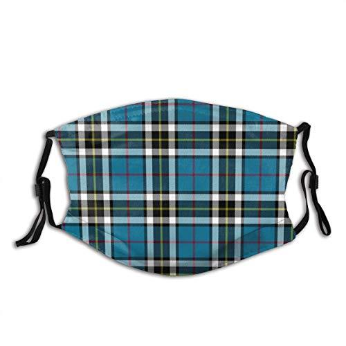 KINGAM Thomson Thompson Mactavish - Máscara de tela reutilizable para proteger la cara, pasamontañas transpirable, para verano caliente, al aire libre, compras, deporte