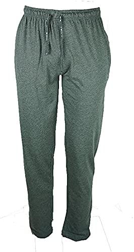 pantaloni tuta 5xl uomo BE BOARD Pantalone Tuta Uomo Taglie Forti Cotone Leggero Art 910 CONF Antracite Melange (5XL)