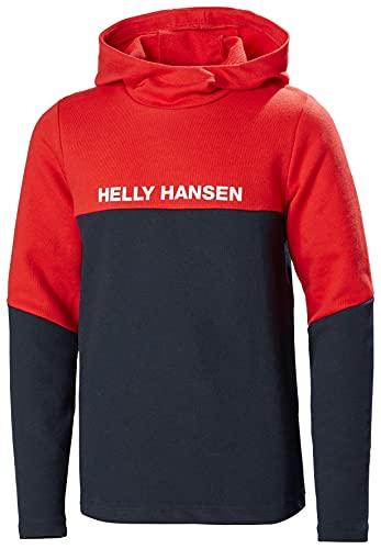 Helly Hansen Active Fleecejacke Chaqueta de Forro Polar para niños, Infantil, Azul Marino, 12