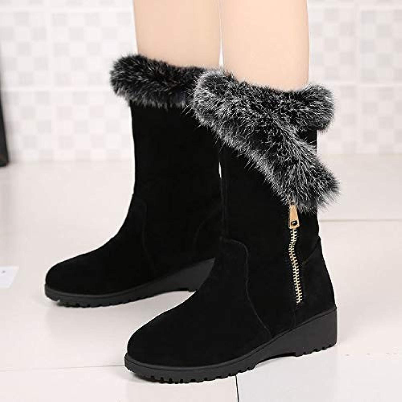 AGECC Flache Schuhe des Winterstiefel-Reißverschlusses Für Studentinnen In Den Schneeschuhen  | Attraktiv Und Langlebig