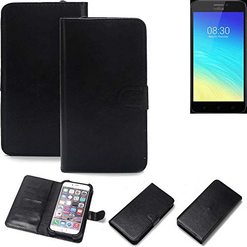 K-S-Trade® Handy Schutz Hülle Für TP-LINK Neffos Y5S Schutzhülle Bumper Schwarz 1x