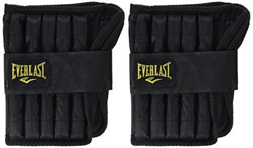 Everlast Adj Ankle Weights 5lb Black Tobilleras Ajustables con lastre,...
