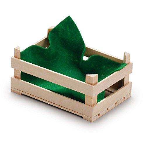 en bois Play Food - Pretend Play épicerie - Petite Caisse pour fruits par ERZI - version anglaise