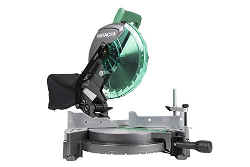 "Hitachi C10FCG 15-Amp 10"" Single Bevel Compound Miter Saw"