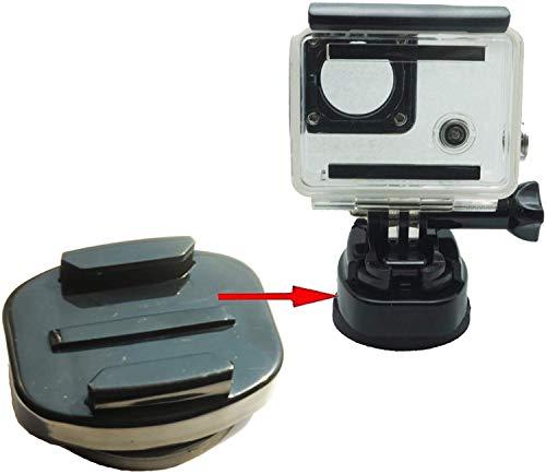 Monturas magnéticas para montura GoPro (todas las cámaras GoPro. Paquete de soportes...