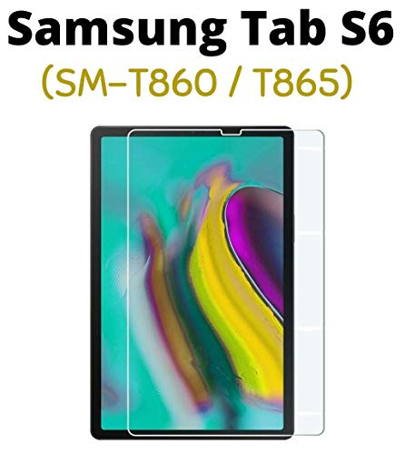 "M.G.R.J® Tempered Glass Screen Protector for Samsung Galaxy Tab S6 SM-T860 / T865 (10.5"" inch) (Rel. 2019, August)"