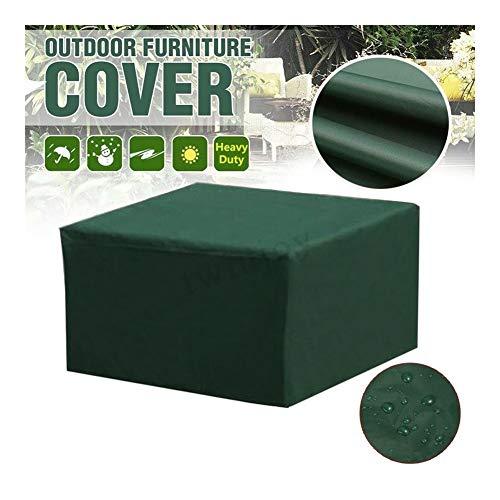 NINGWXQ Cube Tuinmeubelen Covers Outdoor meubilair van het tuinterras Cover Rechthoekig Ovaal waterdicht Tarpaulin, Green, Meerdere Maten (Color : Green, Size : 210x110x70cm)