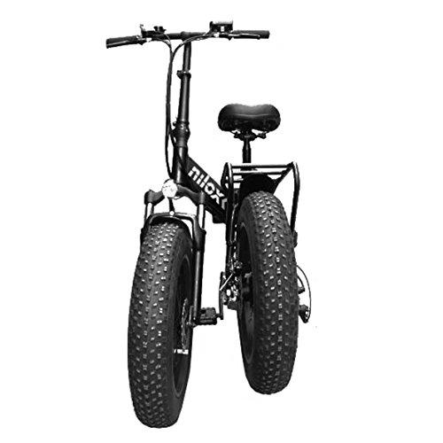 Nilox E Bike X4, Folding E-Bike, Black, One Size
