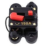 interruttore di circuito automatico reset fusibile per auto nave bicicletta, portafusibile da circuito,12v-24v 80-300a [classe di efficienza energetica a](150a)