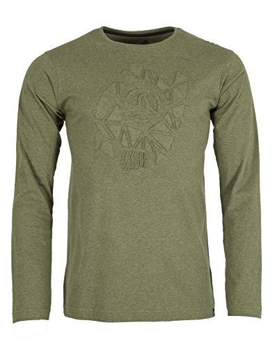 Ternua Gohana Shirt M T-Shirt à Manches Longues pour Homme L Vert Profond
