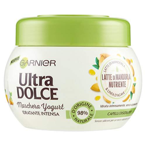 Garnier Mascarilla Ultra Dolce Leche de Almendra, hidratada sin appesar, 300 ml