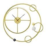 RH-ZTGY Relojes De Pared Grandes, Decoración De La Sala De Estar Reloj Delgado para Casa Casa Cocina Dormitorio Decorativo Big Wall Reloj No Ticking Batería Cuarzo para El Baño