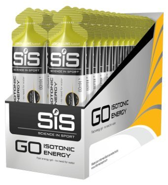 Gel Energético GO Isotonic Energy Gel SIS Lima Limón 15 x 60ml