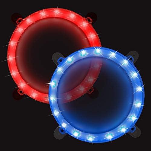 Blinngo Cornhole Boards Ring Lights One Set of Two Cornhole Lights Waterproof LED Cornhole Ring product image