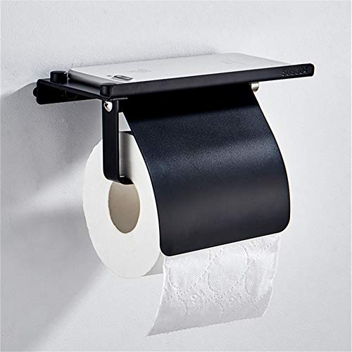 ZWJPJL Tenedor de Papel higiénico de Acero Inoxidable 304, Soportes de Papel de Rollo de Pared, para Cuartos de baño y Cocina