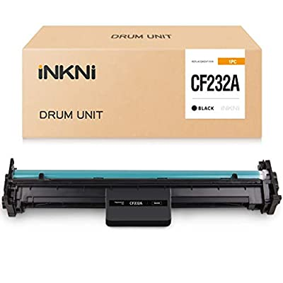 INKNI Compatible Drum Unit Replacement for HP 32A CF232A Drum for Laserjet Pro M203d M203dn M203dw M118 M148dw M149fdw M148fdw MFP M227fdn M227fdw Ultra M206dn MFP M230fdw M230sdn Printer (1 Pack)