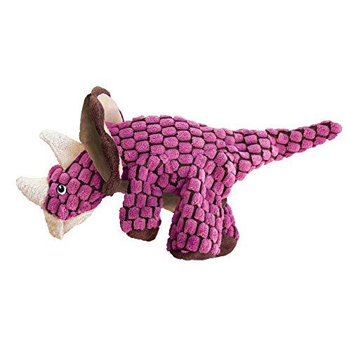 KONG Leistungsprüfstand Triceratops Hundespielzeug, groß