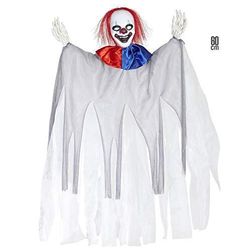 Widmann 01387 ? Décoration pour fêtes Halloween 'Clown Tueur'