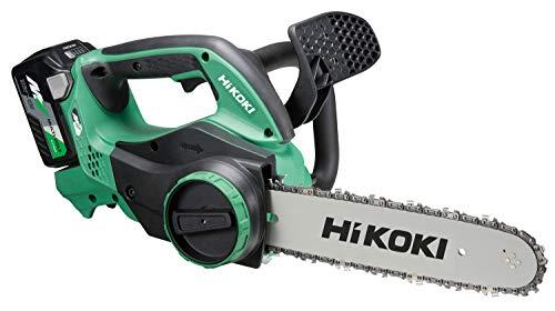 HiKOKI(ハイコーキ) 旧日立工機 コードレスチェンソー 36V マルチボルト 充電式 リチウムイオン電池、急速充電器、予備電池付※蓄電池保証書、純正梱包箱付 CS3630DA(2XP)