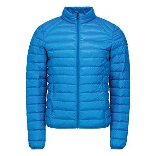 JOTT heren winterjas donsjack mat blauw thermische isolatie waterdicht winddicht (maat M)