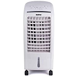 Beat the summer heat with this superb Beldray Air Cooler, featuring a 6 L tank and additional ioniser function. The high-performance cooler has three speed settings plus swing function and ioniser function to clean and purify cool air. Select the ion...