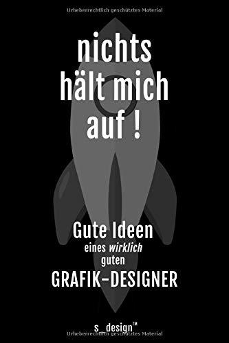 Notizbuch für Grafik-Designer: Originelle Geschenk-Idee [120 Seiten kariertes blanko Papier]