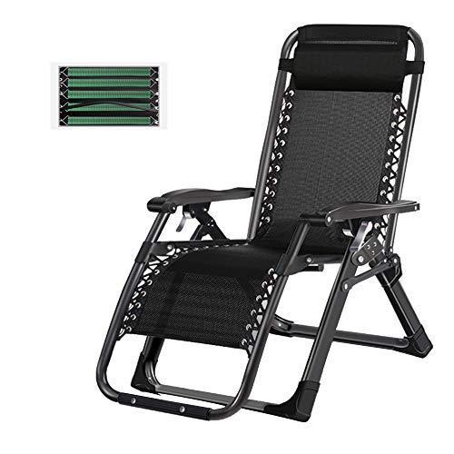 bureaustoelen LVZAIXI Zero Zero Zvity ligstoel in de tuin met vijfvoudig verband en comfortabel textiel