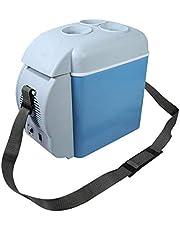 7.5L Mini Car Fridge Freezer Cooler Warmer 12V Cooling Heating Mini Fridge Camping Travel Refrigerator