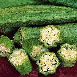 Cajun Delight Okra (Special) - 40 Seeds by Seedsurvivor