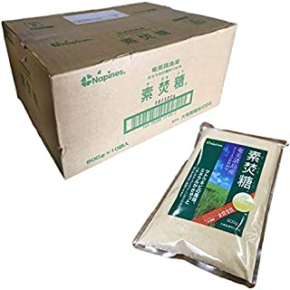ママパン 砂糖 Napines 素焚糖 600g ×10セット