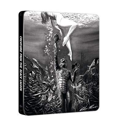 Il Mostro della Laguna Nera (Steelbook Edizione Limitata Alex Ross Art) (Blu-Ray)
