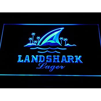 vn0096 Landshark Beer Bar Pub Banner Sign