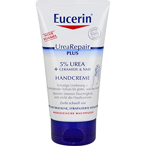 Eucerin UreaRepair Plus 5% Urea Handcreme, 75 ml