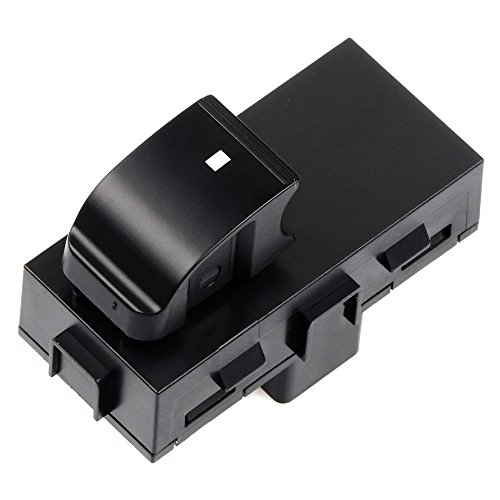 Power Window Switch Rear Driver or Passenger Side 22895545 fits for 2006-2011 Buick Lucerne 2007-2013 Chevy Avalanche 1500 2008-2013 Chevy Silverado 1500 2500 3500/GMC Sierra 1500 2500 3500